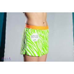 Soffe V Notch Limited Edition Orange Waistband Green Zebra
