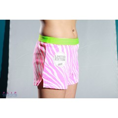 Soffe V Notch Limited Edition Green Waistband Pink Zebra