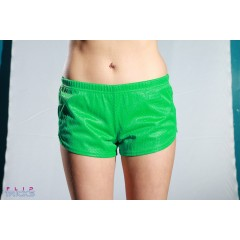 Soffe Mesh Teeny Tiny Shorts Green