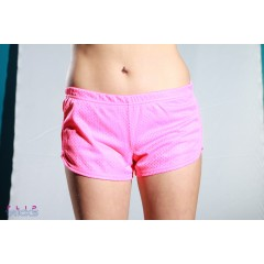 Soffe Mesh Teeny Tiny Shorts Light Pink