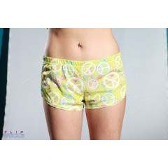 Soffe Mesh Teeny Tiny Shorts Light Peace