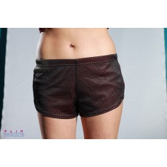 Soffe Mesh Teeny Tiny Shorts 2 Colour Pink/Black