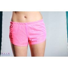 Soffe Mesh Teeny Tiny Shorts 2 Colour Yellow/Pink