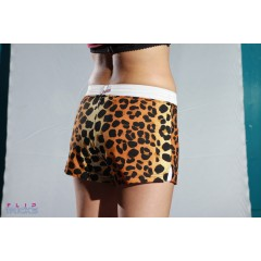 Soffe V Notch Shorts Leo Print