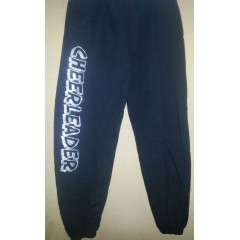 Cheer joggers Black with Silver Glitter Print!