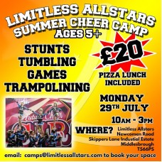 Limitless Allstars Summer Camp