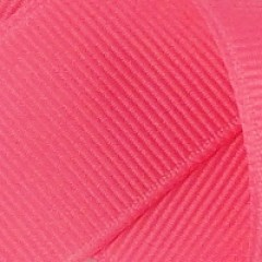 Grosgrain Ribbon: Hot Pink