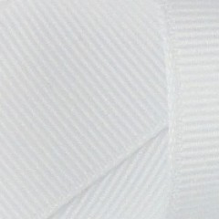 Grosgrain Ribbon: White