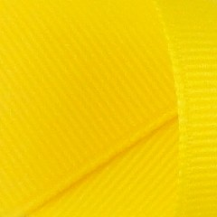 Grosgrain Ribbon: Yellow