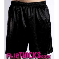 "Soffe Male Mesh Shorts 9"" inseam black"