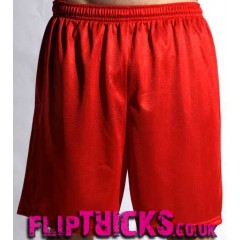 "Soffe Male Mesh Shorts 9"" inseam red"