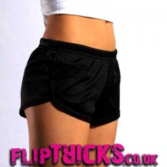 Soffe Mesh Teeny Tiny Shorts Black