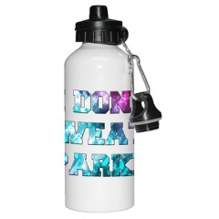I don't sweat, I sparkle Water bottle